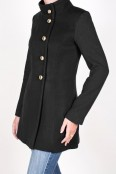 Black and Black Aldrich Coat